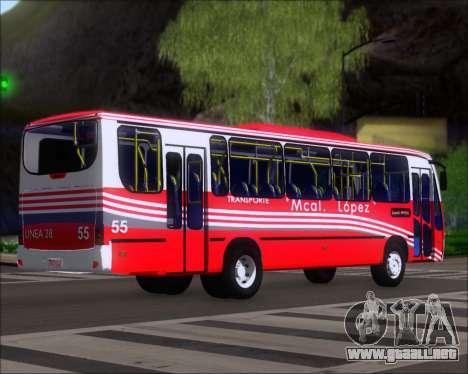 Neobus Spectrum Linea 38 Mcal. Lopez para la visión correcta GTA San Andreas