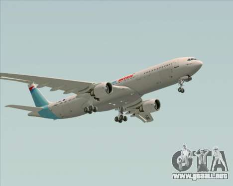 Airbus A330-300 Air Inter para vista inferior GTA San Andreas
