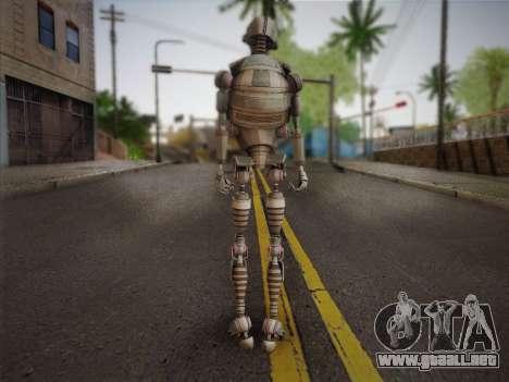 Kraang Robot para GTA San Andreas segunda pantalla