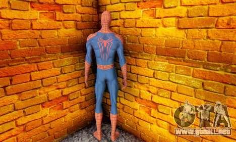 The Amazing Spider Man 2 Oficial Skin para GTA San Andreas quinta pantalla