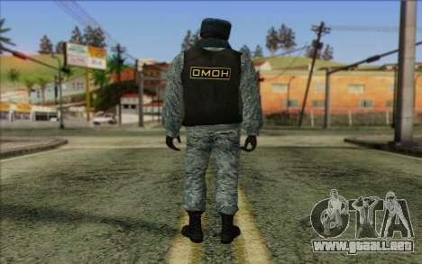 La policía rusa de la Piel 5 para GTA San Andreas segunda pantalla