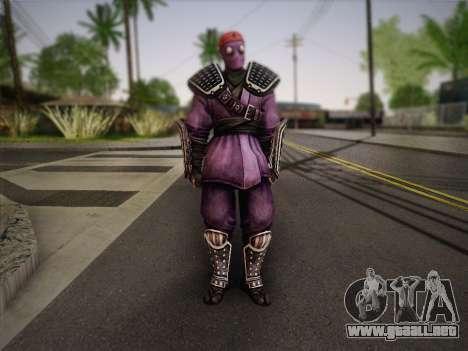 Foot Soldier Elite v2 para GTA San Andreas