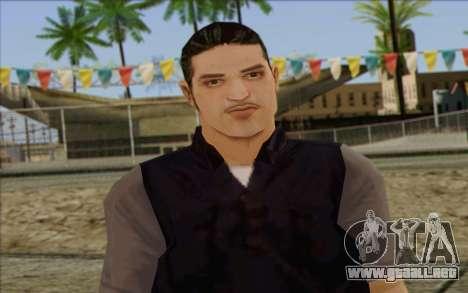 Introduction Mobster para GTA San Andreas tercera pantalla