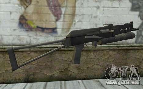 PP-19 Bizon (Battlefield 2) para GTA San Andreas segunda pantalla