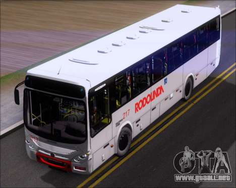 Marcopolo Torino G7 2007 - Volksbus 17-230 EOD para GTA San Andreas vista hacia atrás