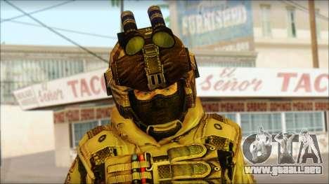 Los soldados de la UE (AVA) v2 para GTA San Andreas tercera pantalla