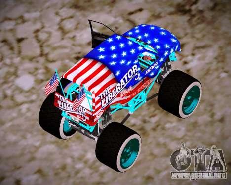 Liberator Online Version (American Flag) para GTA San Andreas left