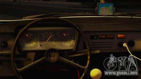 Dacia 1310 TX para GTA San Andreas vista posterior izquierda