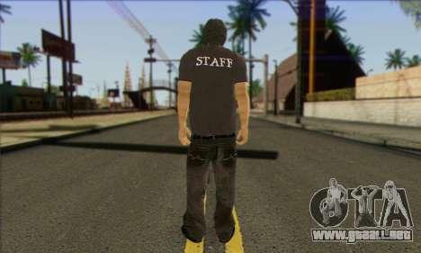 Transeúnte (PERSONAL) para GTA San Andreas segunda pantalla