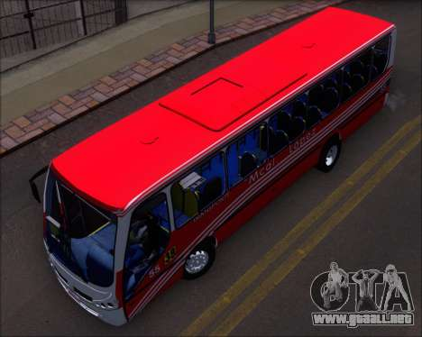 Neobus Spectrum Linea 38 Mcal. Lopez para visión interna GTA San Andreas