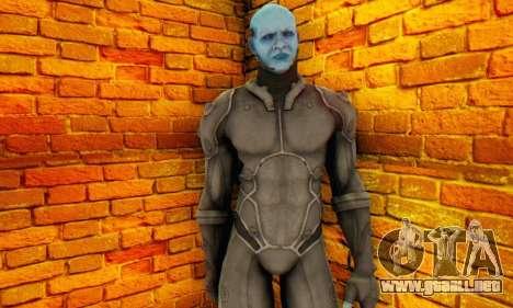 Skin Electro From The Amazing Spider Man 2 para GTA San Andreas sucesivamente de pantalla