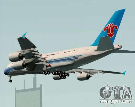 Airbus A380-841 China Southern Airlines para GTA San Andreas