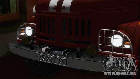 ZIL 131 - CA para GTA San Andreas vista hacia atrás