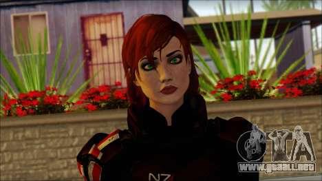 Mass Effect Anna Skin v2 para GTA San Andreas tercera pantalla
