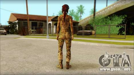 Tomb Raider Skin 10 2013 para GTA San Andreas segunda pantalla