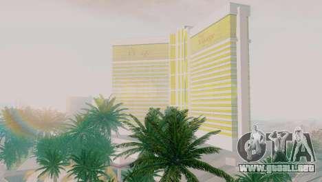 Nuevas texturas de casino Rostro en Las Venturas para GTA San Andreas