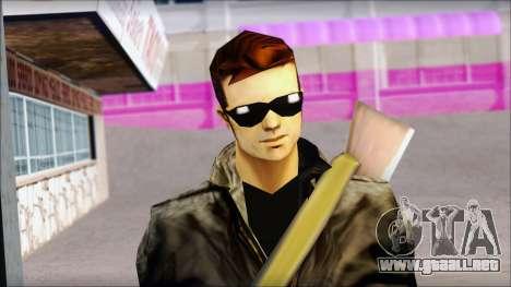 Shades and Gun Claude v1 para GTA San Andreas tercera pantalla