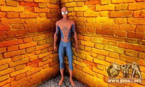 The Amazing Spider Man 2 Oficial Skin para GTA San Andreas sucesivamente de pantalla