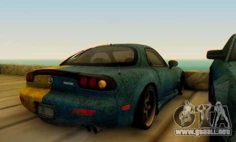 Mazda RX-7 UA PJ para la visión correcta GTA San Andreas