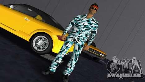 Camo Skin 10 para GTA Vice City