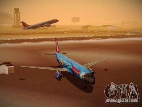 Airbus A320-214 TAM Airlines RIO para GTA San Andreas left