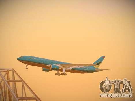 Airbus A330-200 Vietnam Airlines para visión interna GTA San Andreas