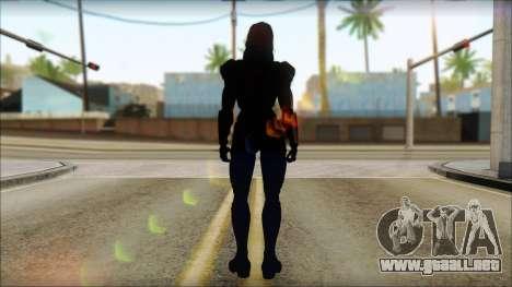 Mass Effect Anna Skin v2 para GTA San Andreas segunda pantalla