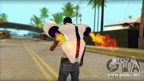 Modern Jetpack para GTA San Andreas segunda pantalla