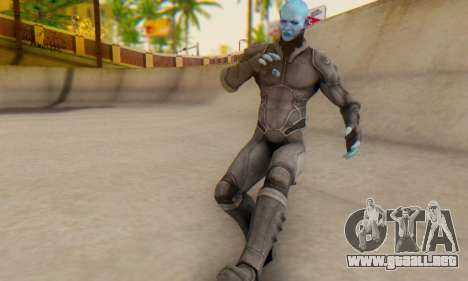 Skin Electro From The Amazing Spider Man 2 para GTA San Andreas