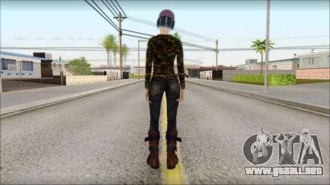 Adultos Clementine para GTA San Andreas