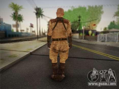 Pablo (Metro Last Light) para GTA San Andreas segunda pantalla