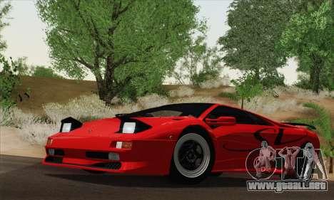 Lamborghini Diablo SV 1995 (HQLM) para GTA San Andreas