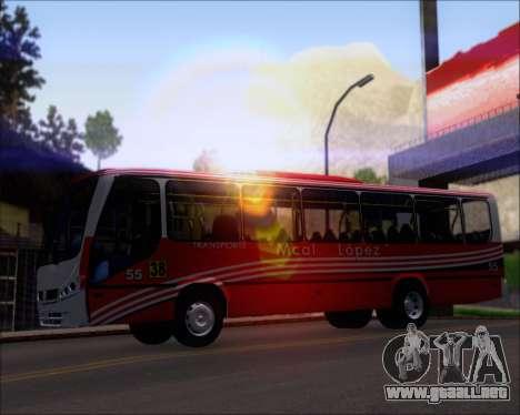 Neobus Spectrum Linea 38 Mcal. Lopez para el motor de GTA San Andreas