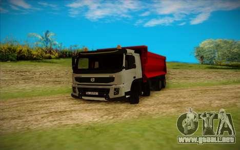 Volvo FMX para GTA San Andreas