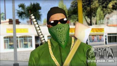 New CJ v6 para GTA San Andreas tercera pantalla