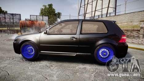 Volkswagen Golf Mk4 R32 Wheel1 para GTA 4 left