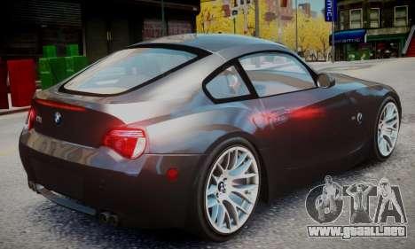BMW Z4M para GTA 4 left