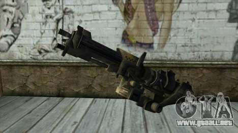 M247 Machine Gun Jorge Of Halo Reach para GTA San Andreas