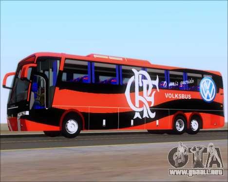 Busscar Elegance 360 C.R.F Flamengo para las ruedas de GTA San Andreas