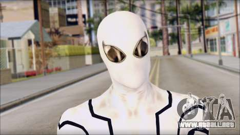 Future Foundation Spider Man para GTA San Andreas tercera pantalla