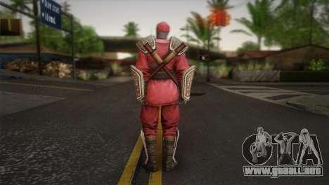 Foot Soldier Elite v1 para GTA San Andreas segunda pantalla