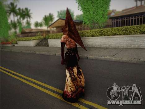 Pyramid Head From Silent Hill: Homecoming para GTA San Andreas tercera pantalla