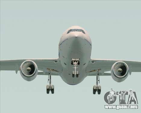 Airbus A310-300 Federal Express para visión interna GTA San Andreas