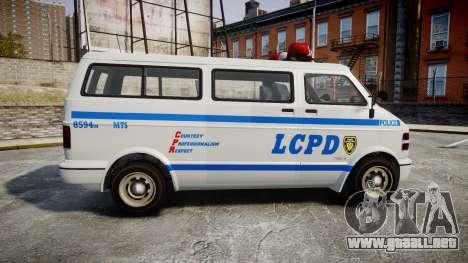 GTA V Bravado Youga LCPD para GTA 4 left
