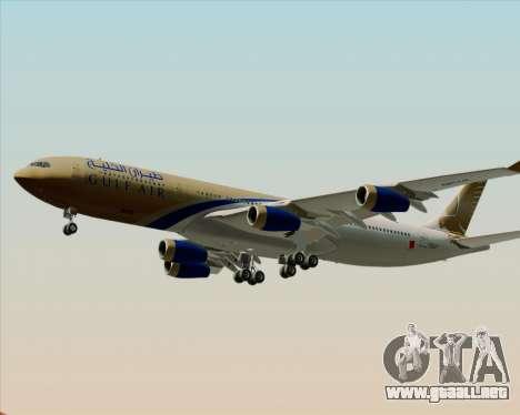 Airbus A340-313 Gulf Air para el motor de GTA San Andreas