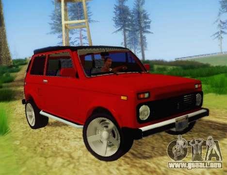 LADA-212180 Fora para GTA San Andreas