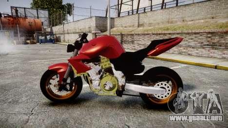 Yamaha FZ6 para GTA 4 left
