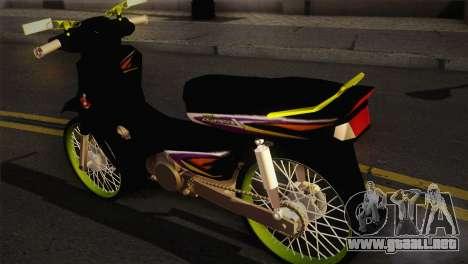 Honda Astrea para GTA San Andreas left