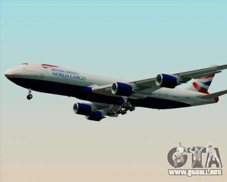 Boeing 747-8 Cargo British Airways World Cargo para GTA San Andreas