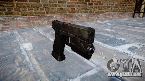 Pistola Glock 20 kryptek tifón para GTA 4